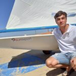 Nacho Toronjo y su barco
